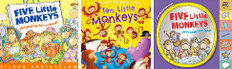 Math is FUN with Monkeys! Set of 3 (Board Book)