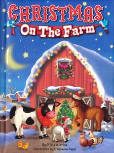 Christmas on the Farm (Padded Board Book)