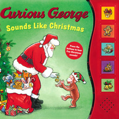 Curious George Sounds Like Christmas (Board Book)
