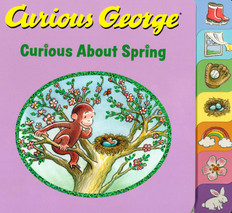 Curious George Curious About Spring (Board Book)