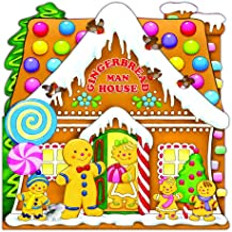 Gingerbread Man House (Board Book)