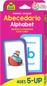 Alphabet: Flash Cards Spanish/English