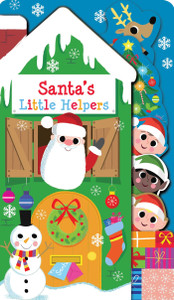 Santa's Little Helpers (Board Book)
