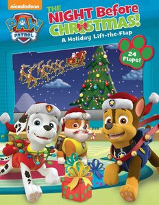 The Night Before Christmas: Lift-a-Flap (Paperback)- Clearance Book