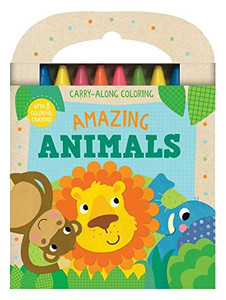 Amazing Animals: Carry-Along Coloring