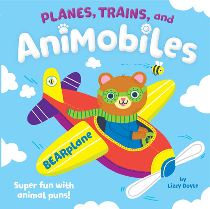 Planes, Trains, and AniMobiles (Board Book)