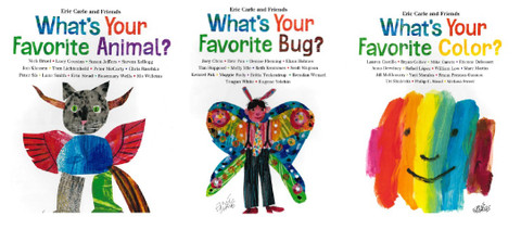 Favorites By Eric Carle Set of 3 (Hardcover)
