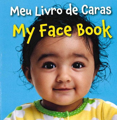My Face Book (Portuguese/English) (Board Book)-Clearance book