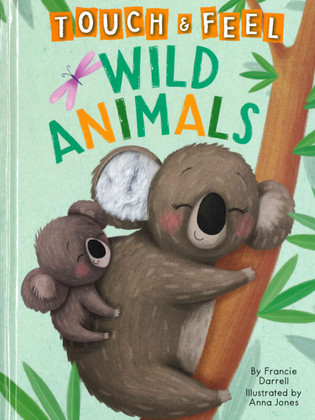 Wild Animals Touch & Feel (Big Board Book)