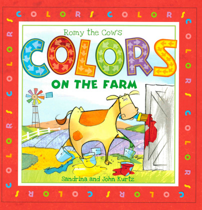 Romy the Cow's Colors on the Farm (Board Book)