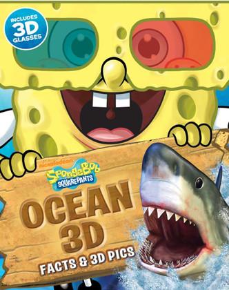 SpongeBob Squarepants Ocean 3D Facts & 3D Pics (Spiral Bound)