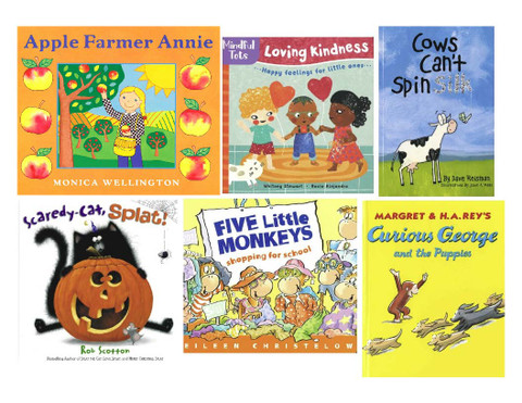 Thankful for Books Fall Reading Challenge 2021 Set of 6