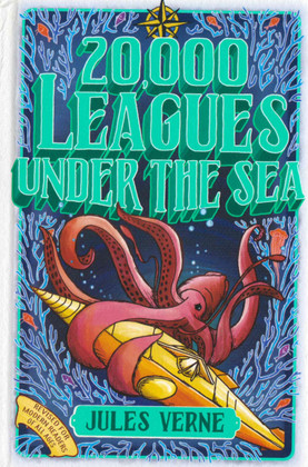 20,000 Leagues Under the Sea (Hardcover)-Clearance Book/Non-Returnable