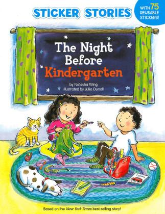 The Night Before Kindergarten (Paperback w/ Stickers)
