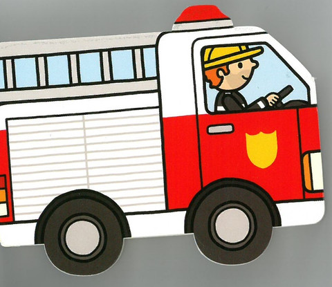 Firetruck: Playtown Chunky (Board Book)