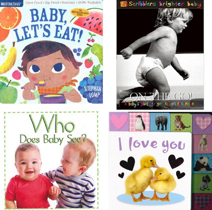 Amazing Baby Set of 4 (Board Book)