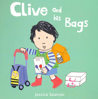Clive and His Bags (Board Book)