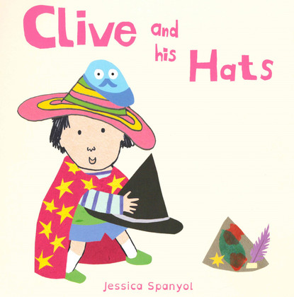 Clive and His Hats (Board Book)