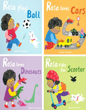 All About Rosa Set of 4 (Board Book)