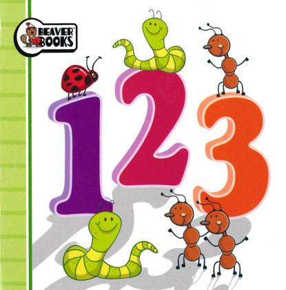 123 (Chunky Board Book 3.5 x 3.5 x .25 inches)