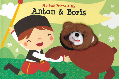 Anton & Boris Finger Puppet Book: My Best Friend & Me (Board Book)