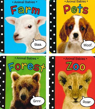 Animal Babies Set of 4 (Foam Board Books)