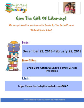 Child Care Action Council Virtual Book Drive