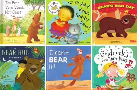 Bear-y Spring Tales Reading Challenge (6 book set)