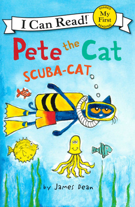 Pete the Cat: Scuba-Cat Paperback)