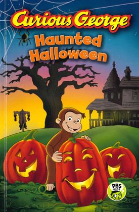 Curious George Haunted Halloween: Green Light Readers Level 2 (Paperback)