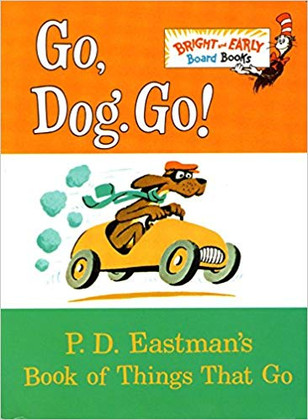 Go, Dog, Go!  (Board Book)
