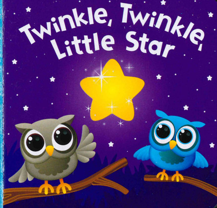 Twinkle, Twinkle, Little Star (Chunky Board Book) 3 x 3 x .75 inches