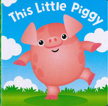 This Little Piggy (Chunky Board Book) 3 x 3 x .75 inches