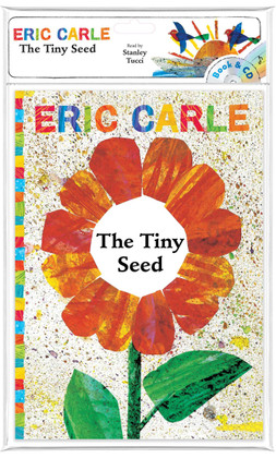 The Tiny Seed: Eric Carle w/ CD (Paperback)