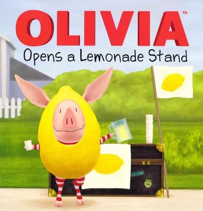 OLIVIA Opens a Lemonade Stand (Paperback)