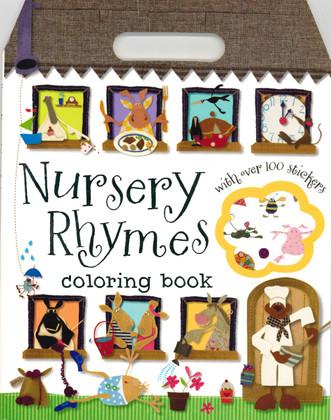 Nursery Rhymes Coloring Book (Paperback)