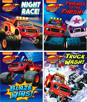 Monster Machines on the Go! Set of 4 (Board Book)