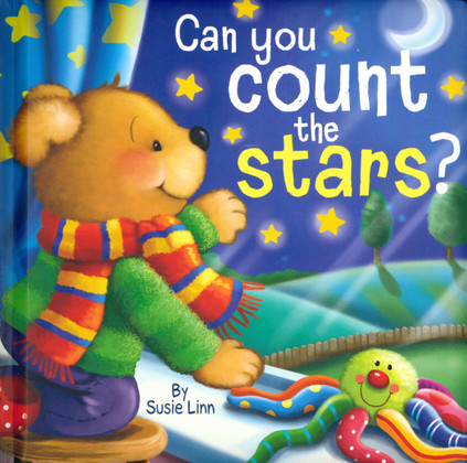 Can You Count the Stars (Padded Board Book)