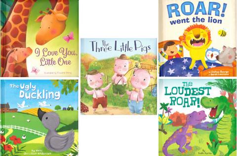 Padded Board Book Favorites!  (BSB)- 25 Books
