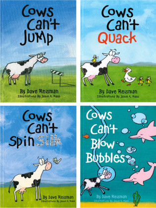 Lively and Lovable!  Jumping Cows (EVB)- 40 Books (Paperback)