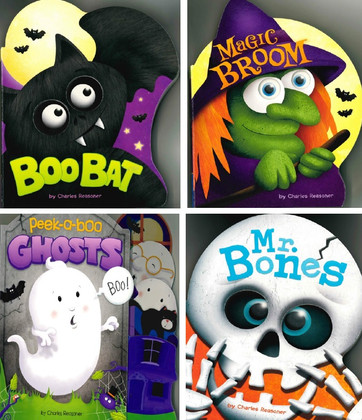 Silly Scares Halloween Set of 4 (Board Book)