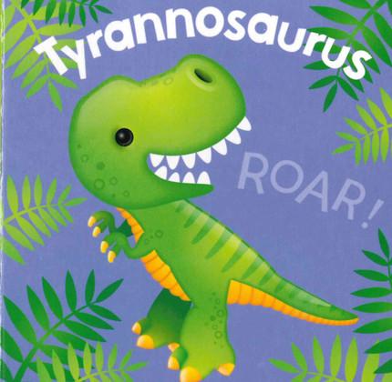 Tyrannosaurus  (Chunky Board Book) 3 x 3 x .75