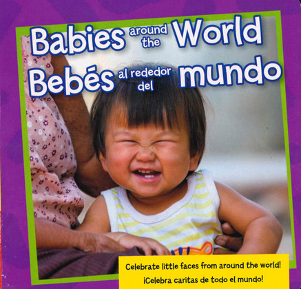Babies Around the World: Spanish/English (Board Book)