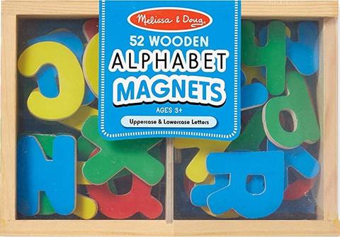 Z/CASE OF 12 - Alphabet Magnets (Melissa & Doug)