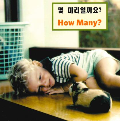 How Many? (Korean/English) (Board Book)