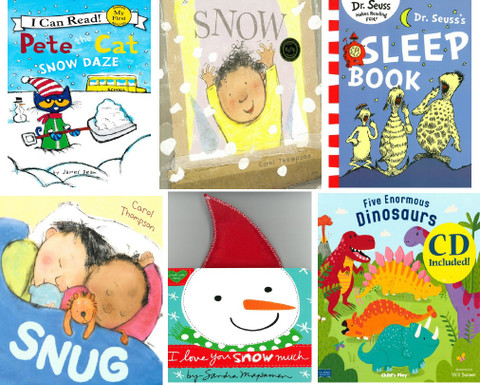 Winter Is Snow Much Fun Reading Challenge Book Kit (6 book set)