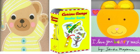 Little Ones Set of 3: Includes 1 Cloth Book!
