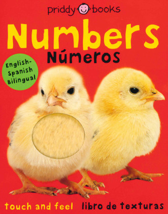 Numbers / Números: Touch and Feel Bilingual (Board Book)