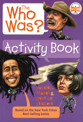 The Who Was? Activity Book (Paperback) 2