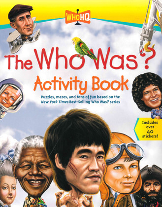 The Who Was? Activity Book (Big Paperback)